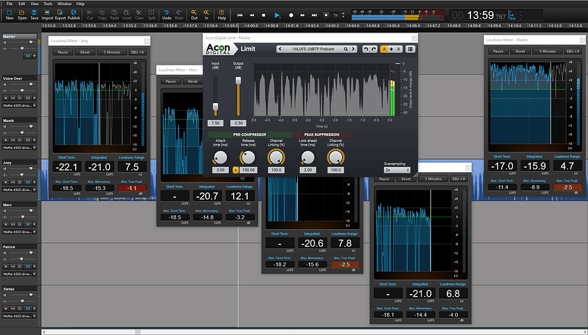 Loudness Workflow