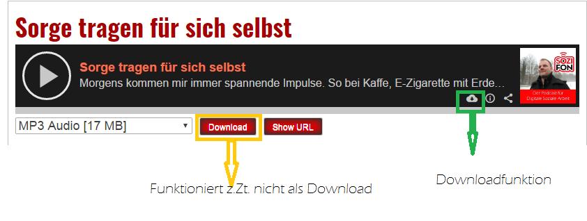 download funktioniert nicht